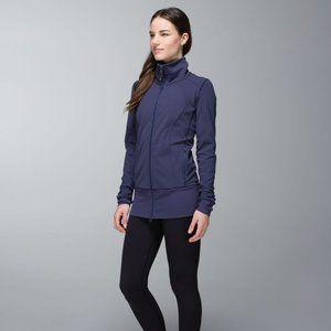 Lululemon Nice Asana Jacket Cadet Blue